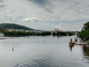 HDR záběr Vltavy