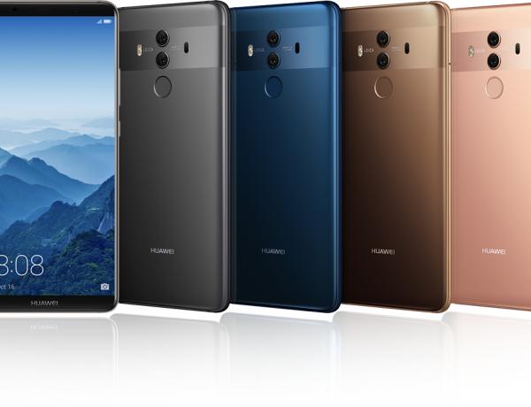 Huawei představil novou řadu smartphonů Mate 10