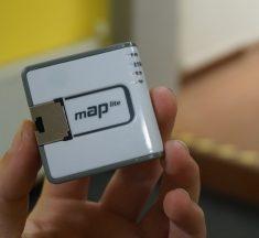 MikroTik mAP Lite: Router o vlásek větší než krabička od sirek