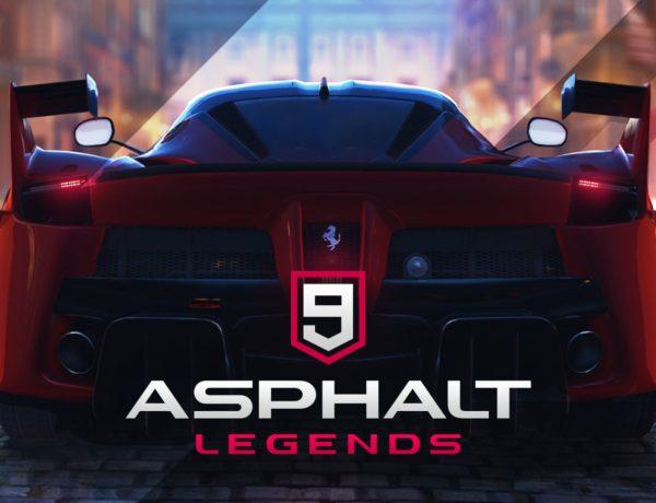 Gameloft vydal novou závoďáckou pařbu na mobily. Přivítejte Asphalt 9: Legends